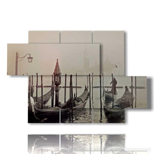 DUUDAART-Quadro-moderno-Venezia-12-Multipannello-e-multilivello-3D