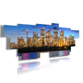 Australie tableaux avec des photos de Sydney