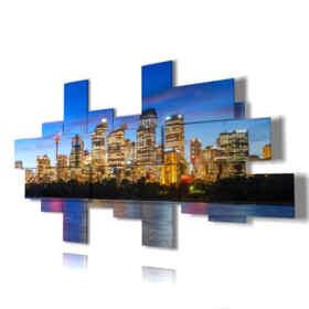 Quadri moderni - New York 31 - centro