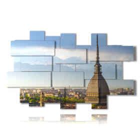 tableaux à Turin Mole Antonelliana