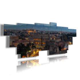 cuadros en Roma, en una visión de 'alto