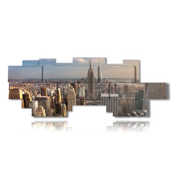 quadri di New York paesaggistica