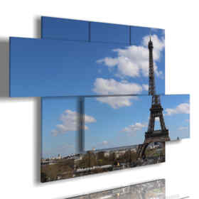 Printed picture - New York 28 - Multipanel and multilevel 3D. Large size