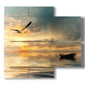 tableau moderne océan