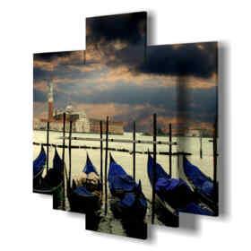 quadri moderni - Lago 02 - centro