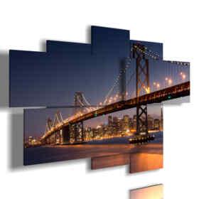 Quadro moderno - Matite colorate - Multipannello e multilivello 3D