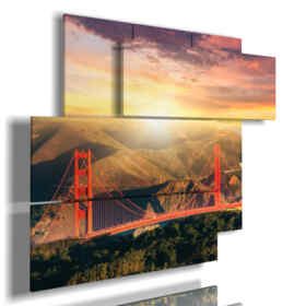 photo frame bridge San Francisco
