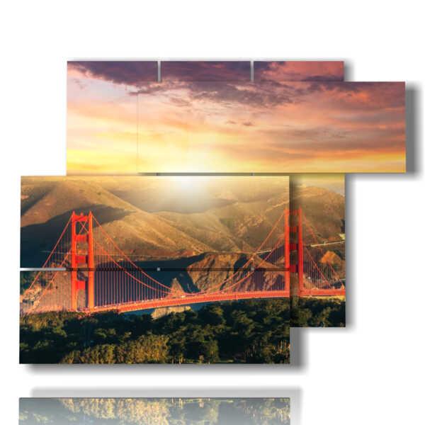 photo frame bridge San Francisco