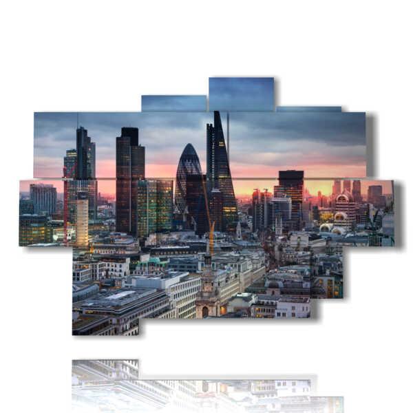 quadro con foto London Tower