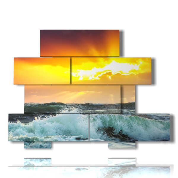 Quadro moderno - Seycelles 04 - sinistra