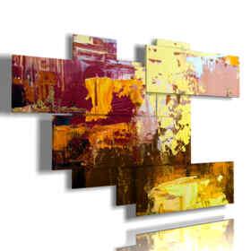 Bild mit abstrakten modernen Bildern für Ihre Fantasie