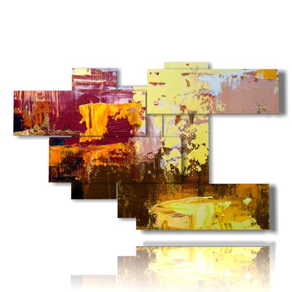 quadro con dipinti moderni astratti per la tua fantasia
