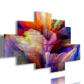 prints flowers abstract paintings