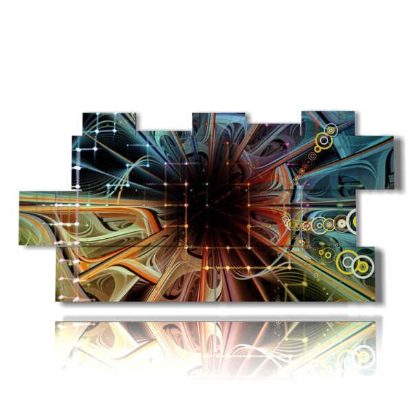 tableau moderne abstraits 23