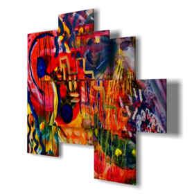 quadri moderni - Seycelles 01 - centro