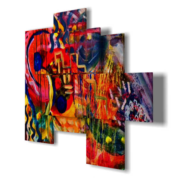 Quadro moderno - Seycelles 01 - centro