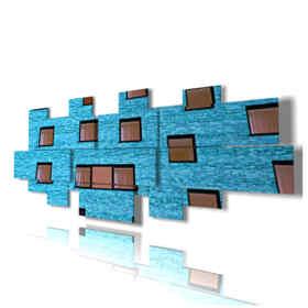 quadri moderni - Caraibi - Grande Voragine Blu - centro