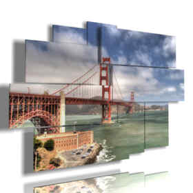 Photo San Francisco Golden Gate tableaux de jour