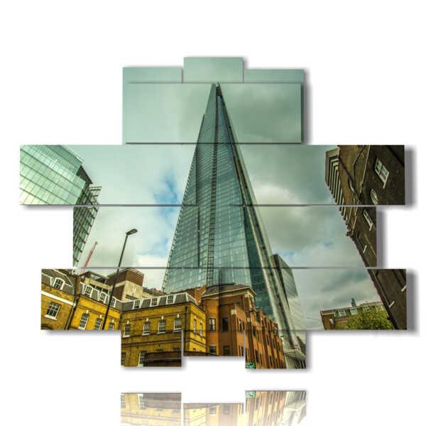 cuadro con fotos en Londres