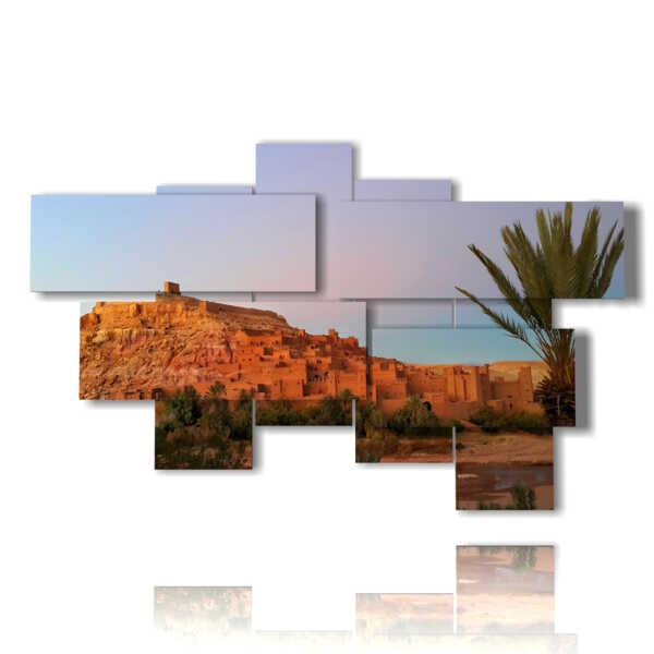 quadro con foto di marocco