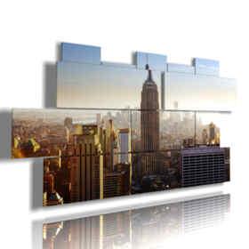 imagen de la vista superior de Nueva York