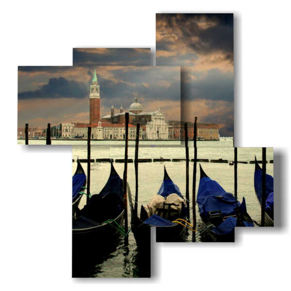 tableaux à Venise après une tempête