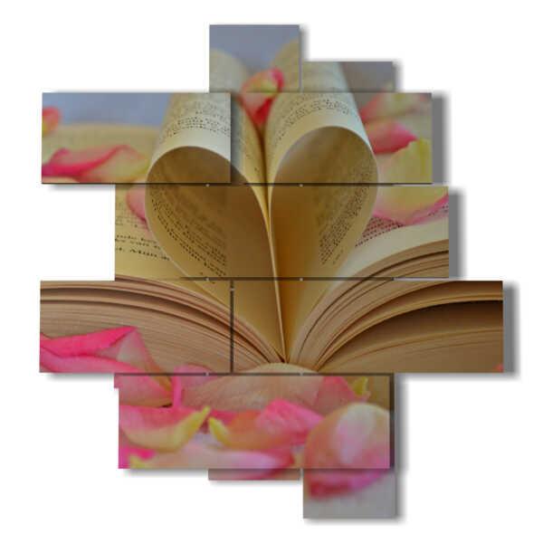 quadri emozionanti libro di petali
