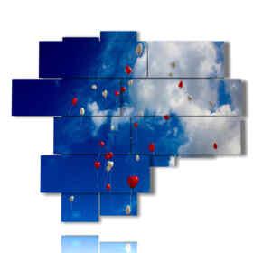 quadri di cuori nel cielo