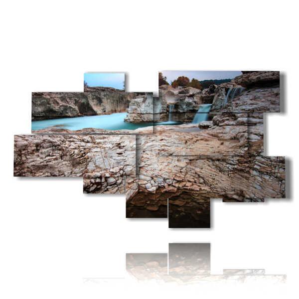 quadri paesaggistici nelle pietre