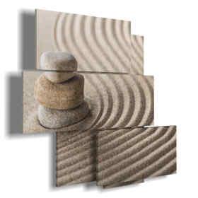 tableaux de sable dans les lignes de détente