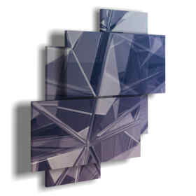 Abstract paintings mirrors