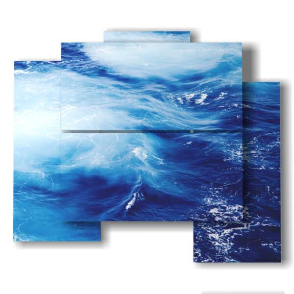 tableaux de mer abstraites tableaux modernes