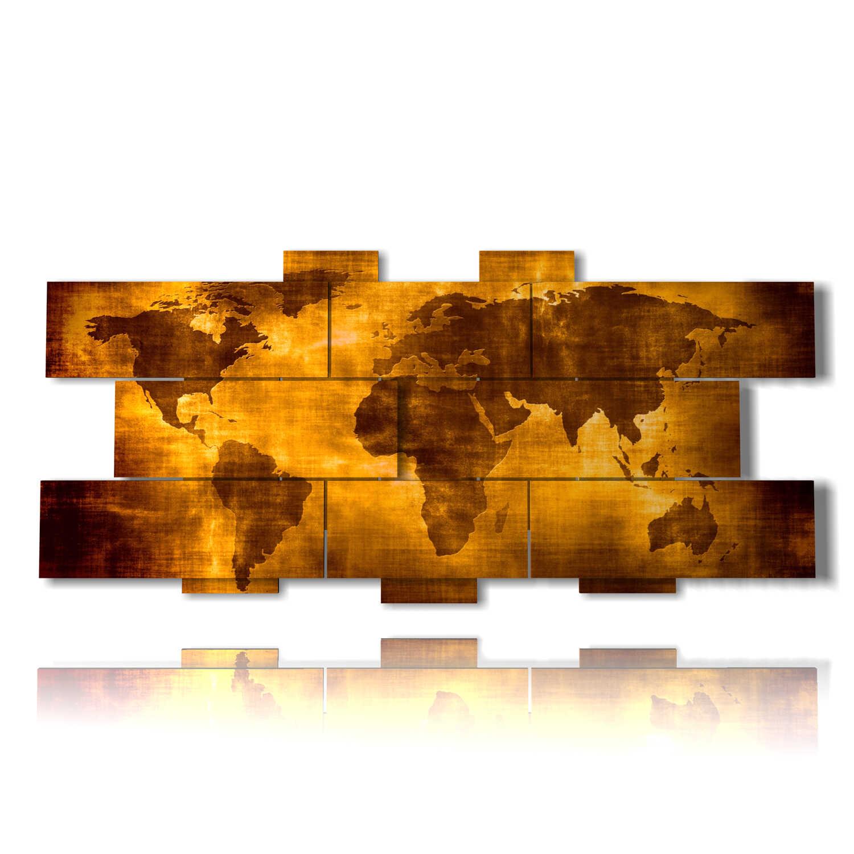 quadri moderni mondo antico effetto tela 3D design DUUDAART