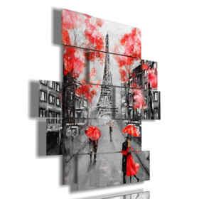 Place de Paris sous la pluie de baisers