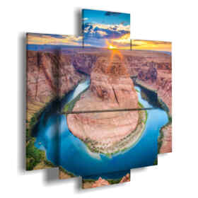paintings with mountain scenery Grand Canyon
