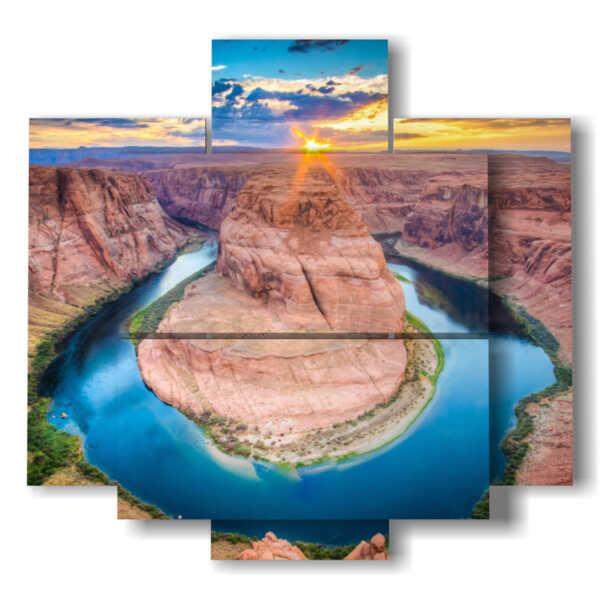 Bilder mit Berglandschaft Grand Canyon