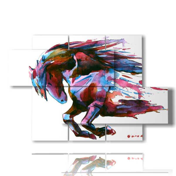 immagini di quadri con cavalli dipinti di fantasia