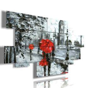 célèbres tableaux abstraites promenade romantique