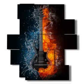quadro da parete moderno musica