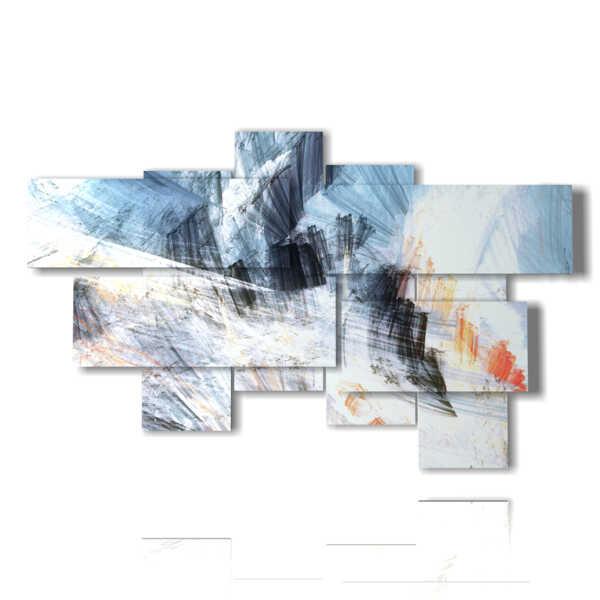 cuadros de colores abstractos