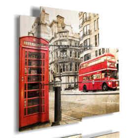quadri di Londra vintage