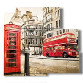 Modern paintings by vintage London
