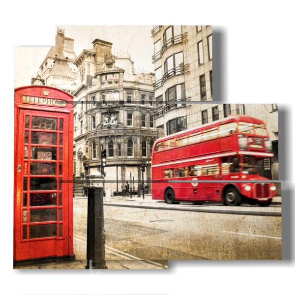 tableaux d'époque, à Londres