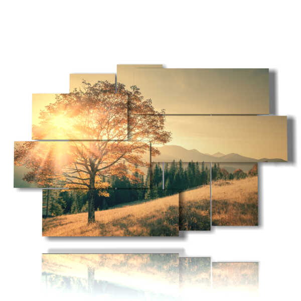 autumn trees paintings