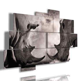 quadri con animali africani