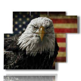 Modern paintings Famous eagle birds