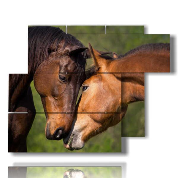 quadri cavalli famosi in corteggiamento