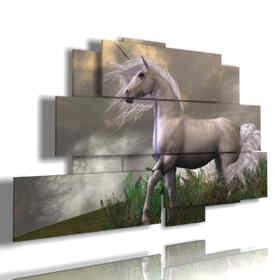 caballo cuadro 3d como en los cuentos