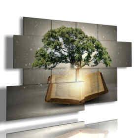 cuadros de árboles abstractos