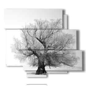 quadro albero invernale